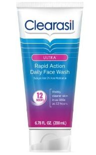 subscribe Amazon: Clearasil Ultra Rapid Action Daily Face Wash 6.78 Ounce (Pack of 3) $13.88 (Reg $28.47)