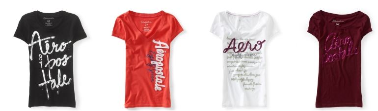 Aerpostale Tees