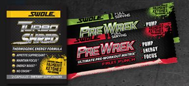 turboshred FREE Swole Workout Supplement Samples