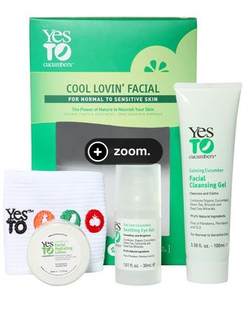 yesto cu Target.com: Yes to Cucumbers 4  pc Skin Care set only $7.54 (Reg $15.09)