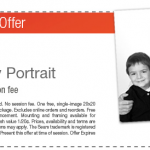 Sears: FREE 20×20 Family Portrait Print Coupon ($125 Value – No Session Fee)!