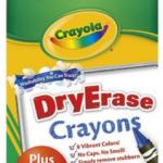 Dry Erase Crayons plus Erase Mitt and Sharpener for FREE + FREE Shipping