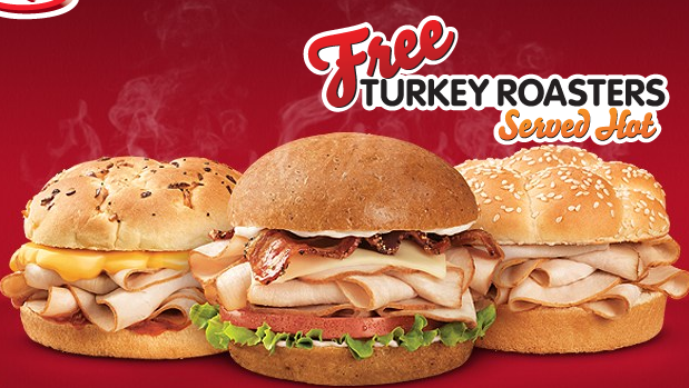 Screen shot 2012 09 05 at 9.29.07 AM Arbys: FREE Turkey Roaster (No Purchase Required!)