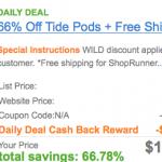 *HOT* Tide PODS Ocean Mist Package Only $1.99 Shipped! (After Cash Back)