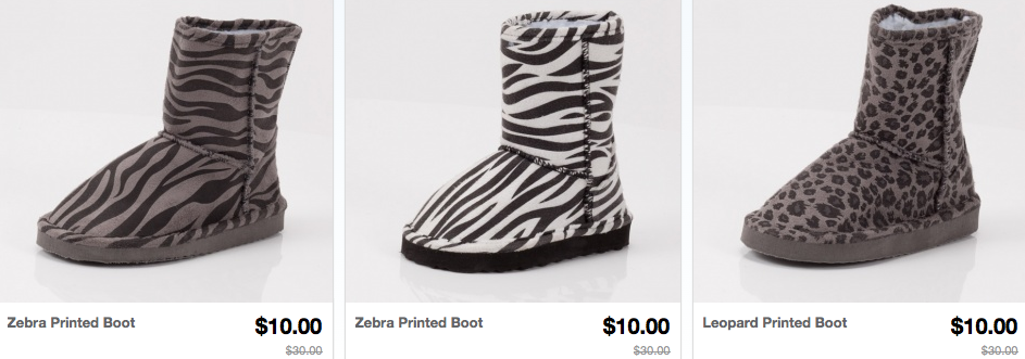 Screen shot 2012 09 08 at 10.13.31 AM Toddler/Kids Winter Boots Only $10 Shipped (Reg. $30!)