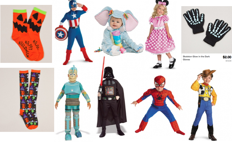 Screen shot 2012 09 09 at 10.04.10 AM *HOT* Halloween Costumes, Socks, Glove as low as $1.00 Shipped (Reg. $10+)!