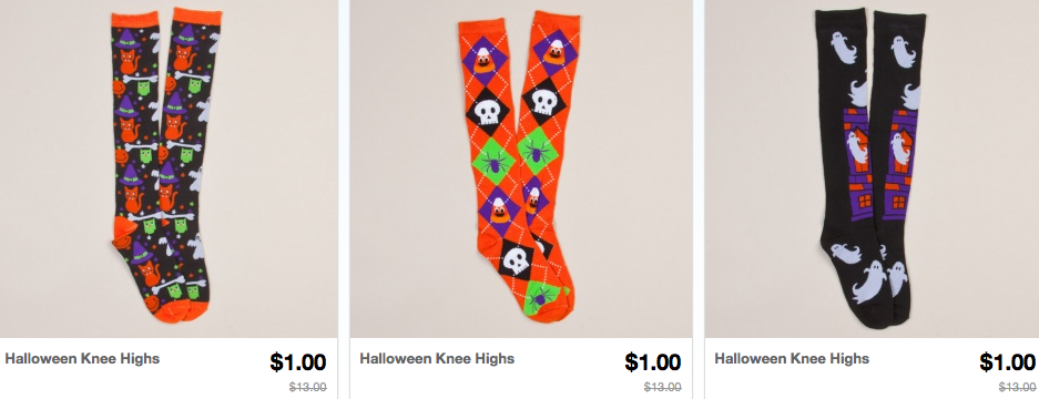 Screen shot 2012 09 09 at 9.51.31 AM *HOT* Halloween Costumes, Socks, Glove as low as $1.00 Shipped (Reg. $10+)!