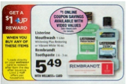Screen shot 2012 09 10 at 2.49.06 PM *HOT* High Value $5/1 and $2/1 Rembrandt Toothpaste Coupons = $0.29 at Rite Aid (Reg. $5.29!)