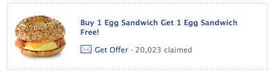 Screen shot 2012 09 10 at 4.27.39 PM Einstein Bros Bagels: Buy 1 Egg Sandwich Get 1 FREE Coupon!