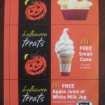 *HOT* McDonald's $1 Halloween Coupon Booklets = 12 FREE Item Coupons!