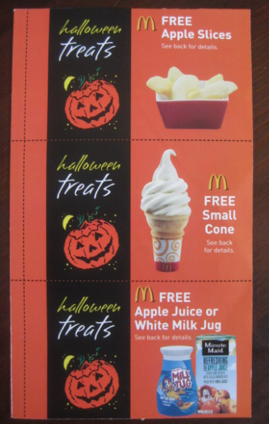 Screen shot 2012 09 12 at 7.07.15 PM *HOT* McDonalds $1 Halloween Coupon Booklets = 12 FREE Item Coupons!