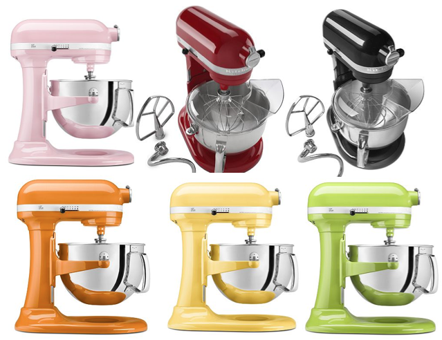 Gallery For Kitchenaid Professional Mixer Colors