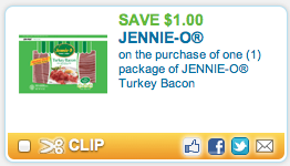Screen shot 2012 09 15 at 11.33.27 AM Coupon RESET!   *HOT* FREE Jennie O Turkey Bacon at Dollar Tree with NEW $1/1 Coupon!