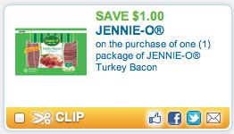 Screen shot 2012 09 15 at 11.33.27 AM Coupon RESET!   *HOT* FREE Jennie O Turkey Bacon at Dollar Tree with NEW $1/1 Coupon!