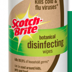 FREE Scotch-Brite Botanical Disinfecting Wipes Sample