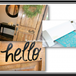 *HOT* Giveaway: Silhouette CAMEO (Over $300 Value) + Special Discount and My Project!