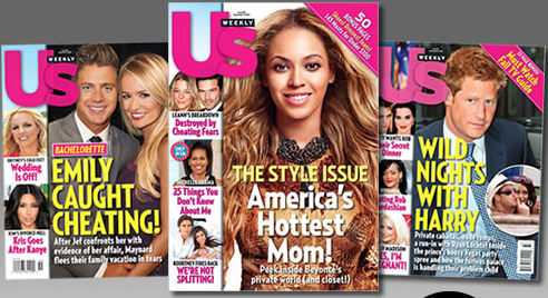 hot 117 free issues of us weekly celebrity gossip magazine