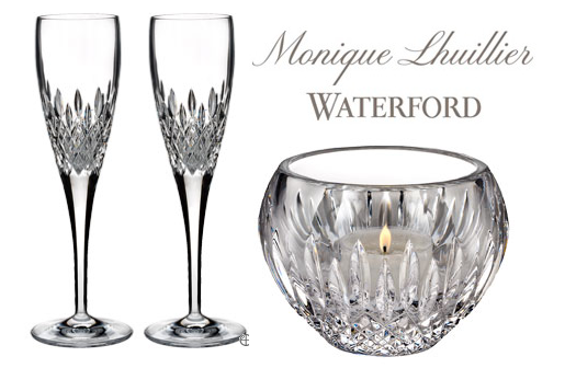 Screen shot 2012 09 22 at 11.11.26 PM Ends Today! Giveaway: 4 Waterford Crystal Monique Lhuillier Arianne Gifts (Value $535!)   Perfect for Wedding