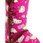 *HOT* Hello Kitty Terry Plush Boot Slippers Only $8.79 Shipped (Reg. $30!)