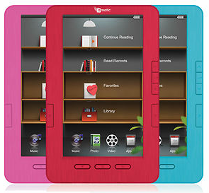 Screen shot 2012 09 25 at 8.32.26 AM *HOT* Ematic 7 Color eBook Reader, MP3, & Video Player $39.99 + FREE Shipping (Reg. $149.99!)
