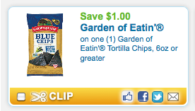 Screen shot 2012 09 27 at 9.13.43 AM Garden of Eatin' Organic Tortilla Chips Only $1.42 a Bag with New Coupon!