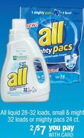 Screen shot 2012 09 29 at 11.09.23 AM CVS: All Laundry Detergent 32 Loads Only $2.00 a Bottle!