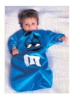 bunting Amazon: Baby Bunting M&M Halloween Costume $7.99