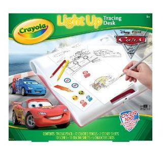 Cars 2 Tracing Desk