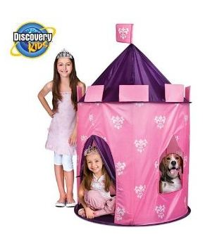 discvoerykids Amazon: Discovery Kids Princess Tent $19.99 (Reg $69.99)