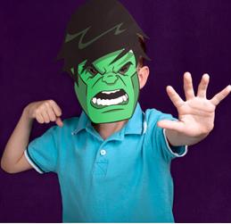 Free Hulk Masks