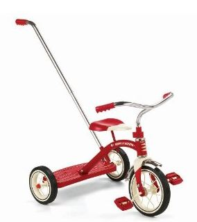 rider Amazon: Radio Flyer Classic Push Tricycle $49.99 (Reg. $89.99)