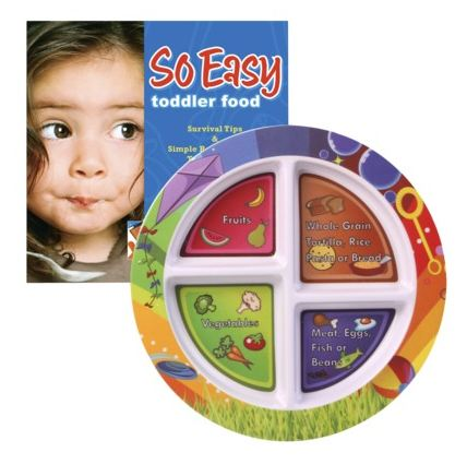 toddlerplate Target: Toddler Portion Plate & Cookbook Only $10 + FREE Shipping