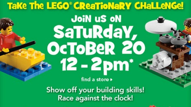 LEGO341 Free Lego Creationary Event at Toys R Us