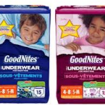 High Value $2.00 off any ONE package of GOODNITES Underwear Coupon!