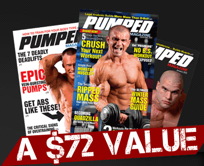 Screen shot 2012 10 07 at 11.56.24 AM FREE 1 Year Pumped Magazine Subscription (Mens Fitness/Muscle Magazine)