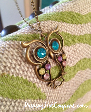 Screen shot 2012 10 07 at 8.31.25 PM *HOT* Amazon: Colorful Owl Charm Necklace Only $0.69 + FREE Shipping!