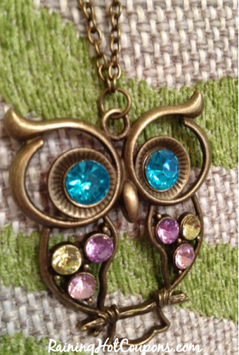 Screen shot 2012 10 07 at 8.34.32 PM *HOT* Amazon: Colorful Owl Charm Necklace Only $0.69 + FREE Shipping!