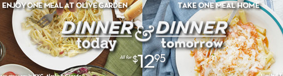 Screen shot 2012 10 08 at 8.12.26 PM Olive Garden: Dinner Today & Dinner Tomorrow (2 Meals for $12.95!)