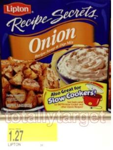 Screen shot 2012 10 08 at 8.22.46 PM Target: Lipton Recipe Secrets Only $0.27 a Box!