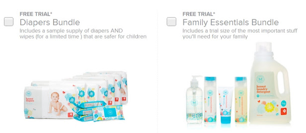 Screen shot 2012 10 09 at 12.42.44 PM *HOT* FREE Trial Size Diapers, Wipes, Lotion, Soap, Balm, Laundry Soap from The Honest Company (Pay $2.98 Shipping)