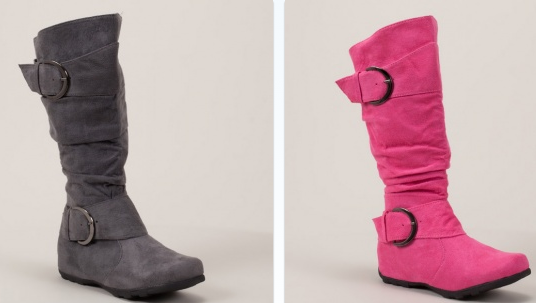 Refresh Women's 'Alto-03' Side Zip Comfort Riding Boots