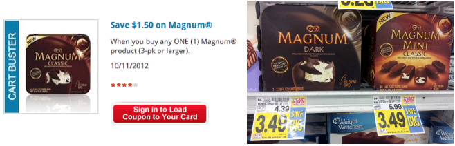 Screen shot 2012 10 11 at 8.44.59 AM Kroger: $1.50/1 Magnum Ice Cream Coupon = Only $1.99 a Box!