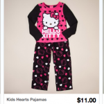 Hello Kitty Kids Pajamas Only $11.00 Shipped!