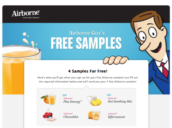 Screen shot 2012 10 20 at 9.40.18 AM New Offer! 4 FREE Airborne Samples