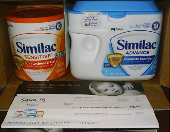 HOT* FREE Full Sized Similac Baby Formula Cans & Coupons!
