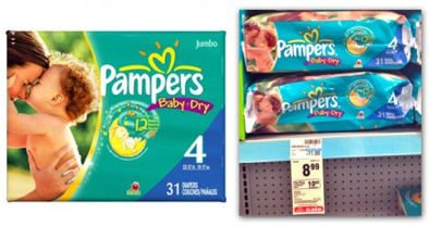 Screen shot 2012 10 30 at 6.37.11 PM CVS: Pampers Diapers Jumbo Pack Only $3.24!