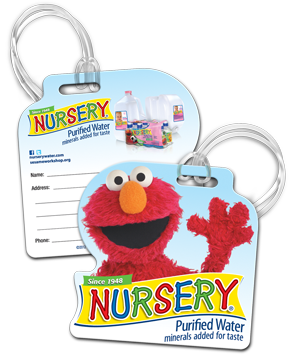bagtag Free Nursery Bag Tag