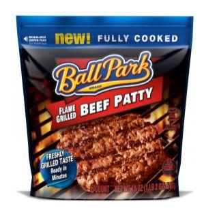 ballaprk2 Rare $2/1 Ball Park Pre Cooked Hamburgers
