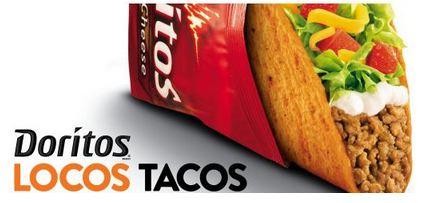 doritos Free Doritos Locos at Taco Bell