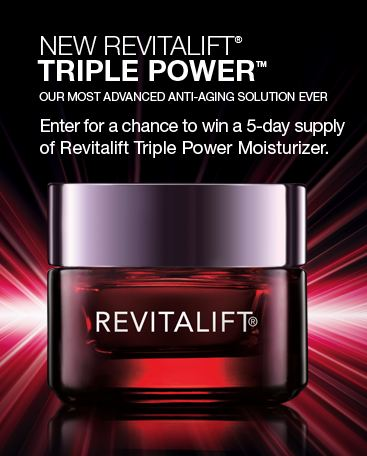 revitalift Free LOreal Paris Revitalift (35,000 winners)